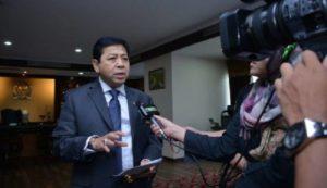 MKD Terima Surat Pengunduran Diri Setya Novanto Sebagai Ketua DPR