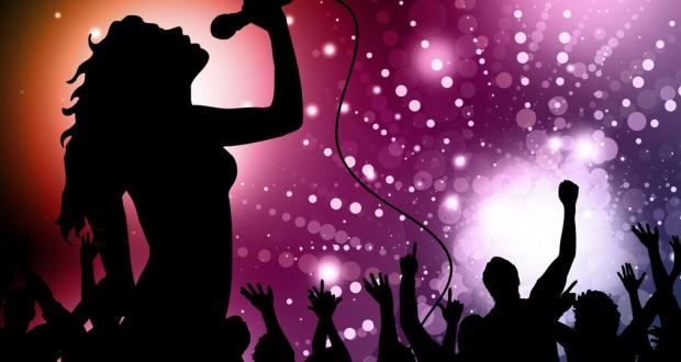 ilustrasi karaoke