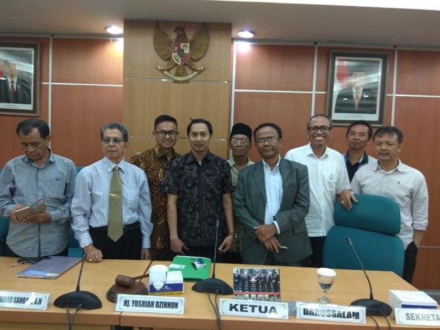 Pedagang Pasar Cipete Utara Mengadu ke DPRD DKI Jakarta