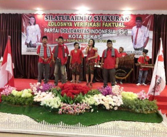 Ketua PSI Kota Bekasi Jamin Politik Tanpa Mahar