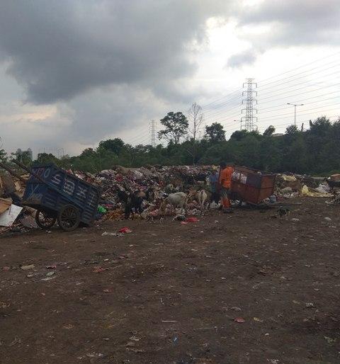 Sandiaga Uno Belum Tepati Janji, Sampah di Danau Cincin Semakin Membusuk