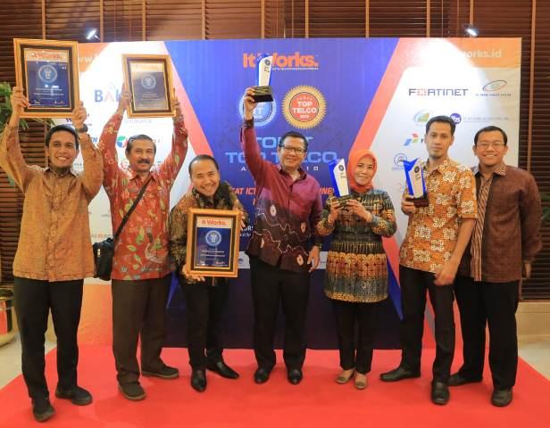 Pemkot Tangerang Raih Empat Penghargaan 'Top It-Telco'