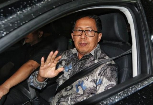 Satgas Antimafia Bola Tahan Plt Ketum PSSI Joko Driyono