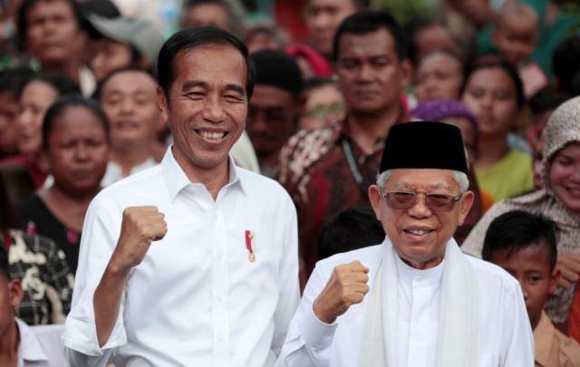 KPU Tetapkan Jokowi-Ma'ruf Amin Presiden-Wakil Presiden Periode 2019-2024