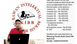 KIBB Pertanyakan PMI Kota Bekasi Galang Dana dari ASN Hingga TKK