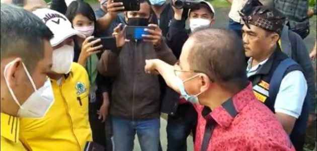 Kantor Jalan Ahmad Yani Digembok, Niat Baik Aria Girinaya Kembalikan Marwah Partai Golkar Kota Bekasi Dihadang Oknum