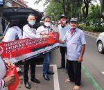 DPC Horas Bangso Batak Kota Tangerang Berbagi Takjil