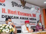 Gelar Buka Puasa Bersama, PKS Kota Bekasi Perkuat Hubungan dan Komunikasi dengan Jurnalis