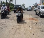 Minim Sinergi, Jalan Perumahan Prima Harapan Regency Tambal Rusak