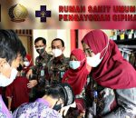RSU Pengayoman Jakarta Berbagi Rezeki dengan Anak Yatim-Piatu