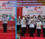 Hari Bhakti Pemasyarakatan Ke-57, Rutan Pondok Bambu Adakan One Day One Prisons Product WBP